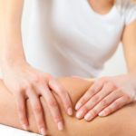 Lymphdrainage Knie Therapie
