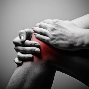 Schmerzen unterm Knie