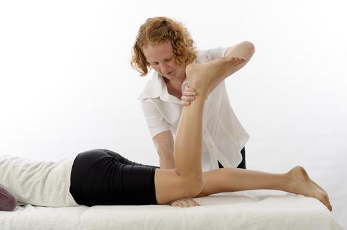 Krankengymnastik für das Knie