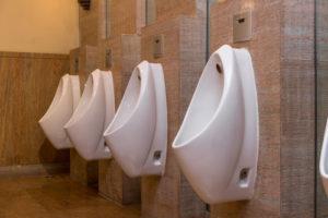 Urin schäumt auf Toilette