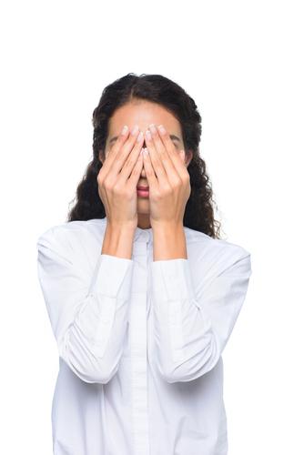 Verklebte Augen - Ursachen des Problems