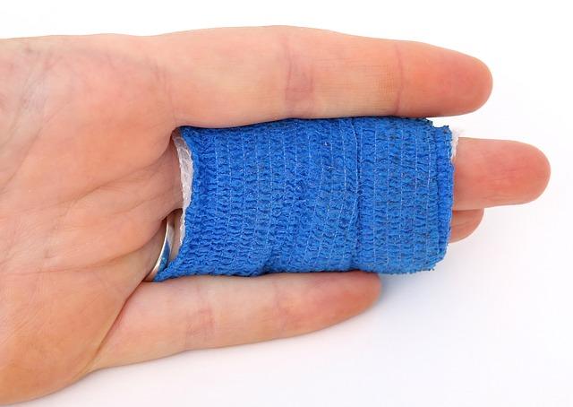 Was tun wenn ein Finger gebrochen ist?