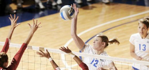 Beim Volleyball kann ein Kapselriss an der Hand schnell passieren