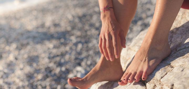 Was tun bei Fußschmerzen, wenn Barfuß laufen nicht hilft