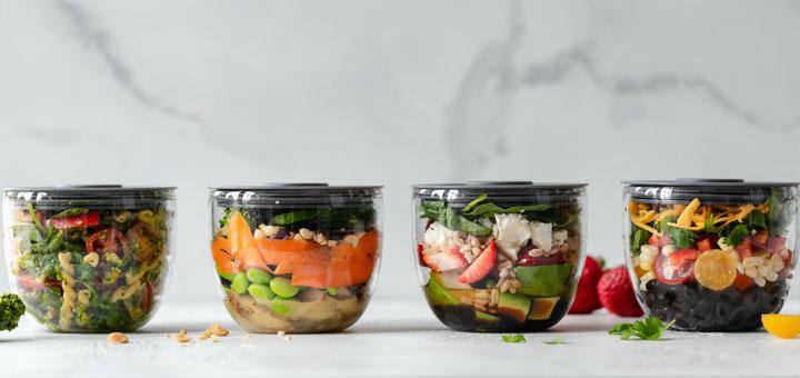 Essen in Gläsern eignet sich als Meal Prep während dem Medizinstudium