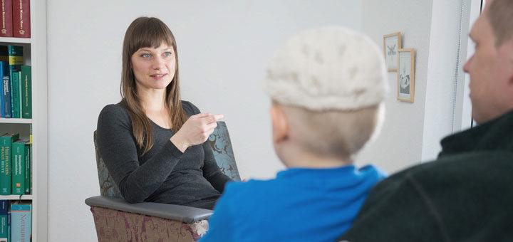 Erstgespräch der Heilpraktikerin Katrin Wild über Homöopathie bei Kindern