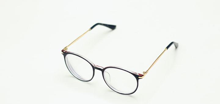 Saubere Brillengläser nach Reinigung
