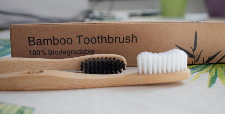 Nachhaltige Zahnreinigung mit Holz Zahnbürsten