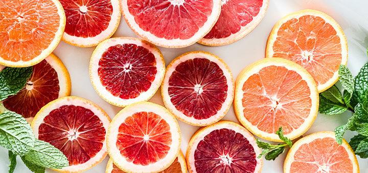 Grapefruitkernextrakt aus Grapefruits gewonnen